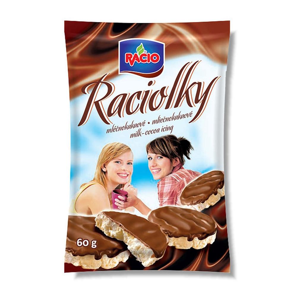 Racio - Raciolky - mléčnočokoládové 60g