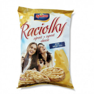 Racio - Raciolky - sýrové 60g