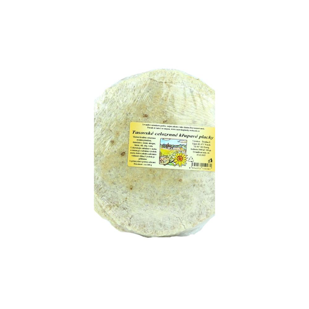 Tasovské celozrnné křupavé placky - Švestka 160g
